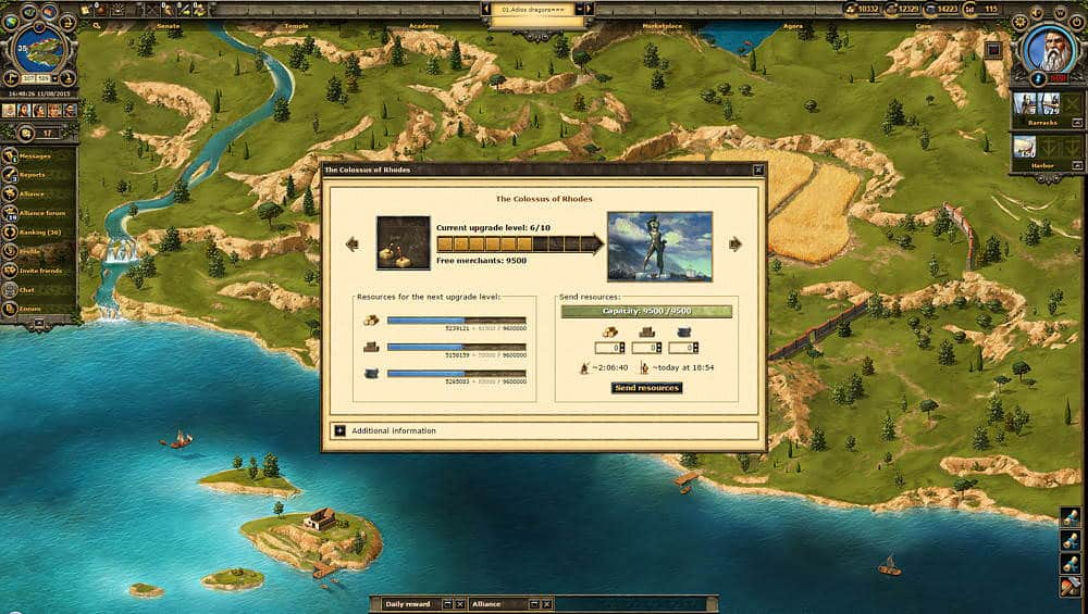 Grepolis – The browser game set in Antiquity